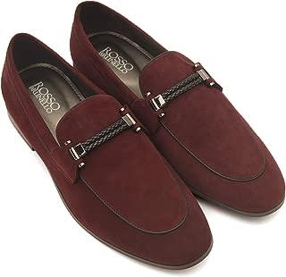 ROSSO BRUNELLO Men's Burgundy Shoes MS-3242_Burgundy