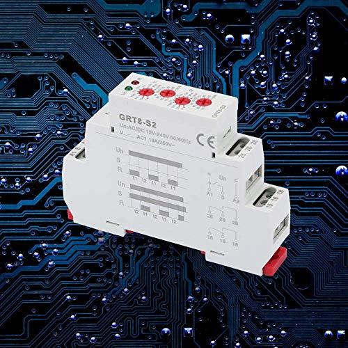 KAIBINY YY Ciclo del Temporizador de retransmisión, Mini Asimétrico ON/Off Ciclo de repetición Tiempo del relé de CC de la CA 12-240V / a de Control Automático