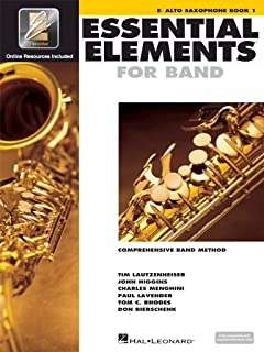Essential Elements for Band - Book 1 - Alto Sax: Comprehensive Band Method
