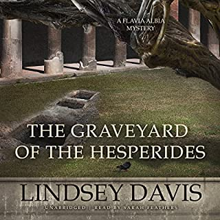 The Graveyard of the Hesperides audiobook cover art