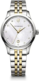 Victorinox - Mujer Alliance Small - Reloj de Acero Inoxidable de Cuarzo analógico de fabricación Suiza 241831