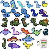 Parches Ropa Termoadhesivos,26pcs Parches Dinosaurios,Patch Stickers Ropa,Parches Dinosaurios Termoadhesivos,Parches Ropa Termoadhesivos,Parches Bordados