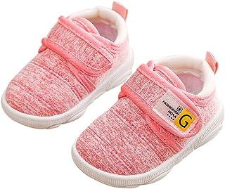 DEBAIJIA Scarpe per Bambini 3-18M Baby Walking Ragazza Ragazzi Antiscivolo Traspirante Mesh TPR Materiale