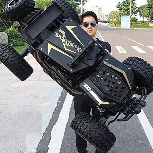 Kikioo 01:10 Gran remoto juguete del coche del control 4WD Off-Road de la roca de 2,4 GHz vehículo controlado de radio del coche del carro del coche de RC Escalada de carga emoción de las carreras de