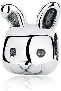Best pandora silver bunny charm Reviews