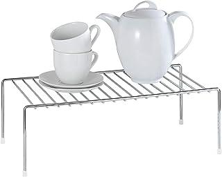 WENKO 2342100 Estante de cocina para vajilla, Metal cromado