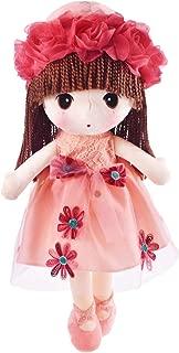 HWD Kawaii Flower Fairy Stuffed Soft Plush Toy Doll Girls Gift , 18 Inch ( Pink )