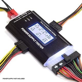 Kingwin PC Computer Power Supply Tester, Digital LCD Screen, ATX/ITX/IDE/HDD/SATA/BYI