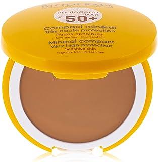 بيوديرما فوتوديرم ماكس كومباكت بعامل حماية من الشمس 50+ بلون ذهبي معدني للبشرة الدهنية المختلطة، 10 جم