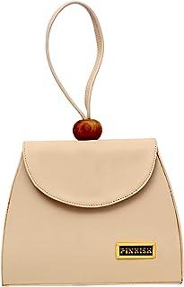 Pinkish Leatherette Handbags For Women's Ladies PK-Daily-029 PK-06 Grey