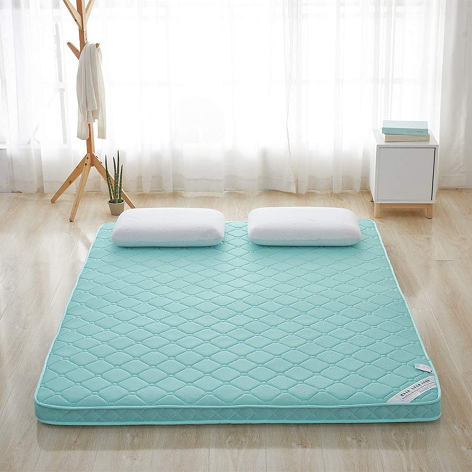 Breathable Futon Mattress, Bamboo Charcoal 4 d Mattress pad, Bedding Stereo Cotton Padded Tatami Mattress Topper Futon Mattress Mat-A 90x200x6cm
