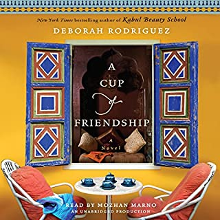 A Cup of Friendship     A Novel              By:                                                                                                                                 Deborah Rodriguez                               Narrated by:                                                                                                                                 Mozhan Marno                      Length: 9 hrs and 31 mins     80 ratings     Overall 4.4