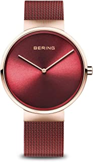BERING Unisex Analogue Quartz Watch with Stainless Steel Strap 14539-363