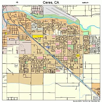 Best ceres california map Reviews