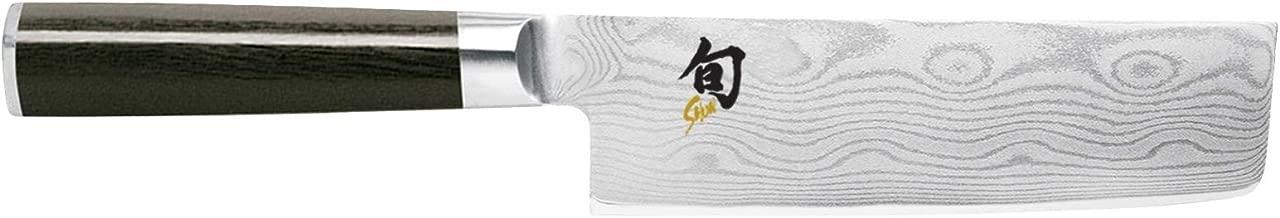Kai Shun Classic Nakiri Kitchen Knife 16.5cm, Stainless Steel, DM0728