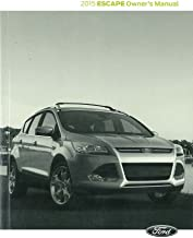 2015 Ford Escape Owner's Manual Guide Book