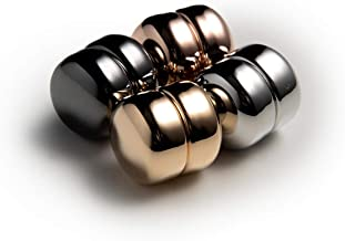 Magnetic Hijab Pins: Gold, Rose Gold, Silver, Gunmetal [Variety 4-Pack] [World's Strongest Hijab Magnets]