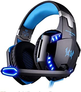 New Kotion Each G2000 Gaming Headphones for PS4, Gaming Headphones with Microphone, Headset Game Headset with 3.5mm Jack L...