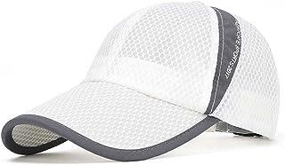 FADA Quick Dry Sports Hat Lightweight Breathable Soft Outdoor Run Cap Men's Sun Caps for Tennis/Golf/Baseball/Fishing/Hiking