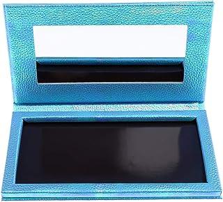 P Prettyia 空 磁気 アイシャドウボックス アイシャドウケース パレット 全2色 - 青