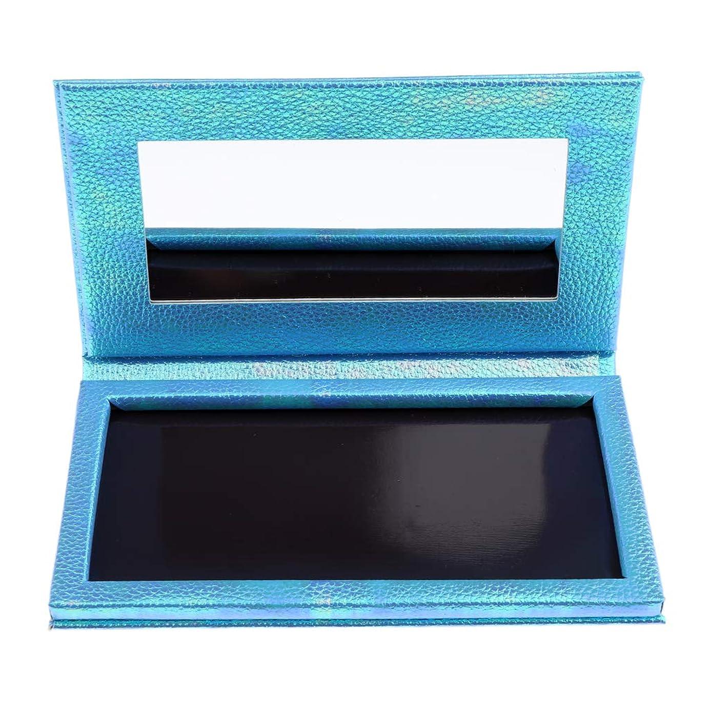 屈辱する期間約束するP Prettyia 空 磁気 アイシャドウボックス アイシャドウケース パレット 全2色 - 青