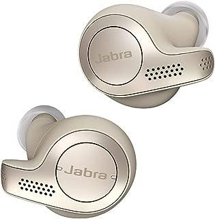 Jabra Elite 65t True Wireless Sports Earbuds with Charging Case – Gold Beige