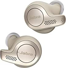 Jabra Elite 65t True Wireless Sports Earbuds with Charging Case  – Gold Beige