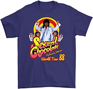 Dealcry Sexual Chocolate Randy Watson Eddy Murphy's 1988 World Tour Funny t Shirt