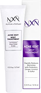 Sponsored Ad - NxN Acne Edit Spot Treatment with Probiotics, Licorice Root, Ginger and Colloidal Sulfur, to rapidly reduce...