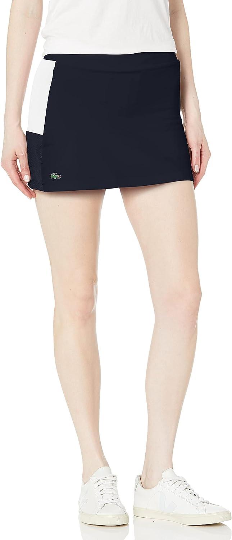 Japan's largest assortment Lacoste Women's Direct sale of manufacturer Sport Tennis Colorblock Skirt