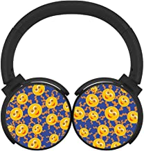 BLTHFun Bluetooth Headset Headphone Wireless Emoji 3D Printed Noise-canceling Earphone