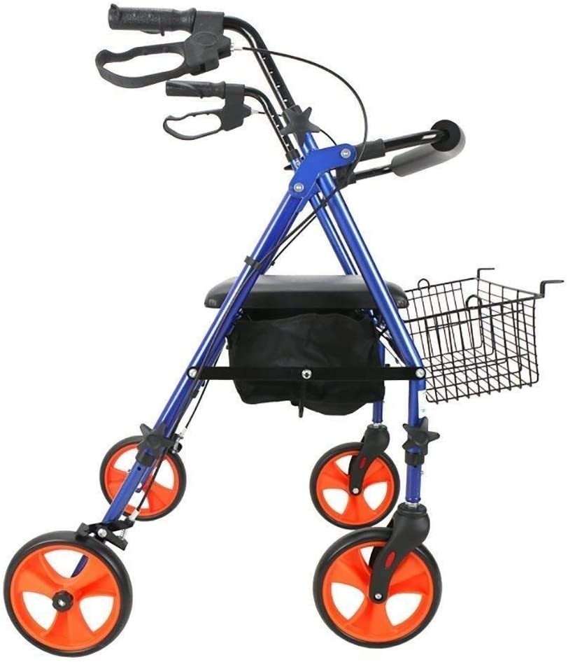 Walker High order for Now free shipping Seniors Rollator Aluminum Mobility Walking Aid 丨