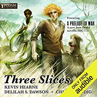 Three Slices audiobook cover art