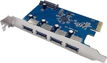 X-MEDIA PCI-E to USB 3.0 4-Port PCI Express (PCIe) Host Controller Card [XM-UB3204]