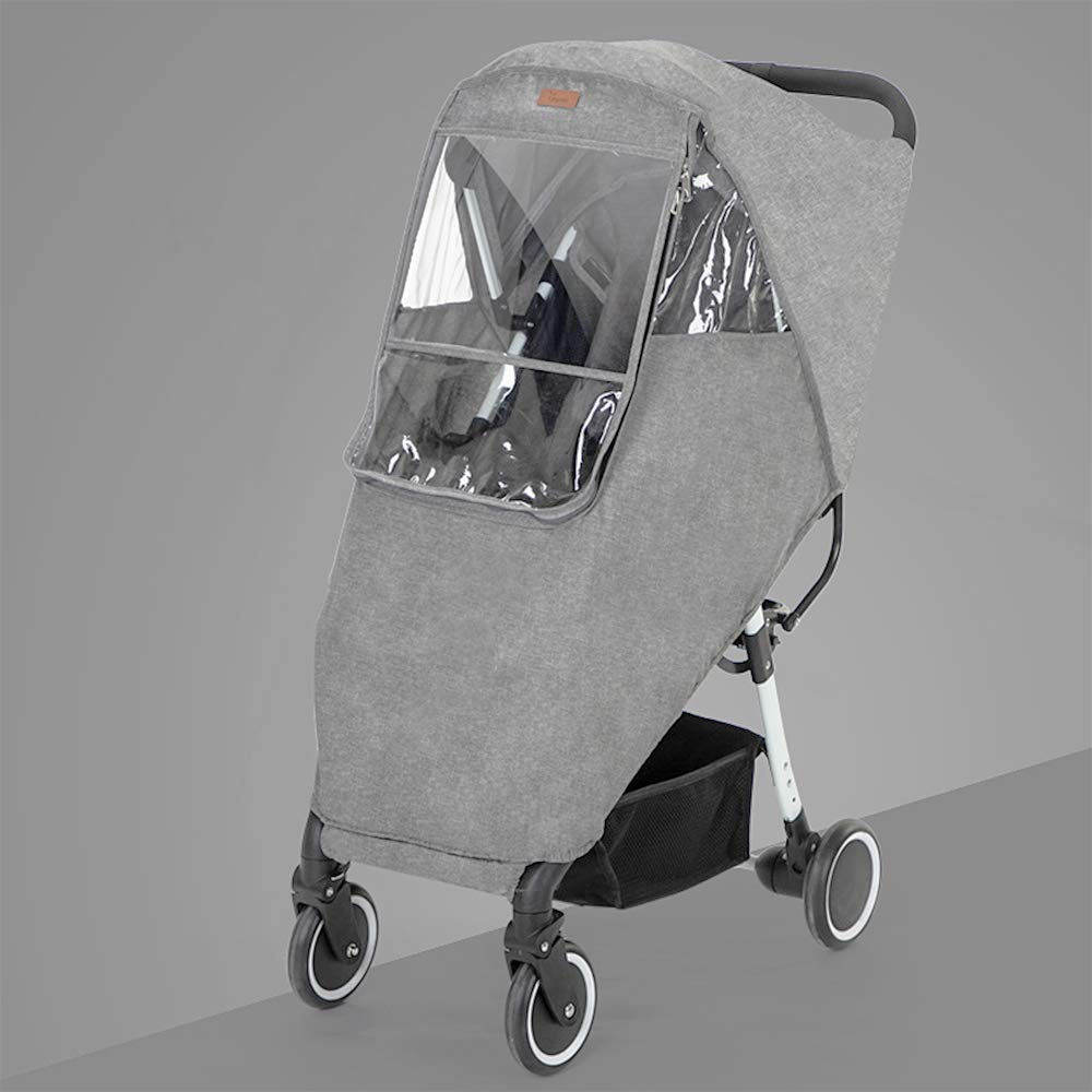 Lion Paw Stroller Rain Cover Travel Weather Shield Universal with Air Holes EVA Window, for Pushchairs Accessories Strollers Raincoat