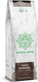 GREEN MAYA Finca Rumania Arabica Coffee Beans 100% Certified Organic Salvadorian Single Origin Coffee Espresso