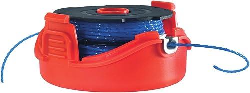 Black+Decker A6442-XJ - Bobina con hilo de 2x6 m de largo y 1.5 mm de diámetro, para los modelos con sistema de alime...