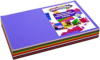 Construction Paper Pack, 10 Assorted Colors, 12