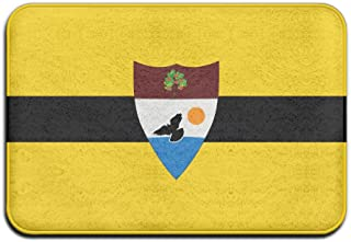Yangaaaa Flag Of Liberland Outdoor Rubber Mat Front Door Mats Porch Garage Large Flow Slip Entry Carpet Standard Rug Home 23.62