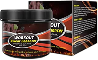 Hot Cream, Cellulite Treatment Belly Fat Burner, Workouts Enhancer Sweat Slim Body Gel, Natural Powerful Muscle Stimulator...