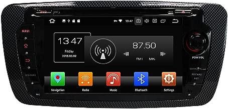 Android 9.0 Octa Core coche reproductor de DVD Multimedia de navegación GPS coche estéreo para Seat Ibiza 2009 2010 2011 2012 2013 2014 Autoradio control de volante con 3G WIFI Bluetooth SD Mapa