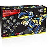 OWI - Dodeca 12-In-1 Solar Hydraulic Robot Kit | 12 Configuration Possible | Powered by the Sun | Great STEM Product