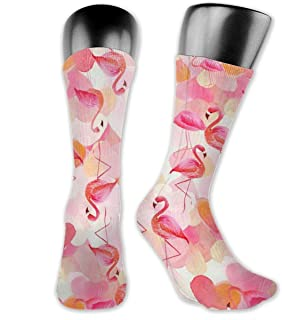 Inner-shop, Calcetines deportivos geniales con logotipo de flamenco para niños y niñas, calcetines altos hasta el tobillo, medias de compresión por debajo de la rodilla, calcetines divertidos informales