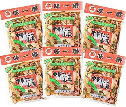 味一番 中華たこ山菜300g×6パック 創業当初からのロングセラー商品