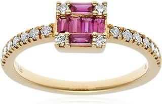 [ベルシオラ]BELLESIORA 【K18ダイヤモンドリング】 4008331117713011 日本サイズ11号