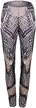 iLUGU Womens Python Print Yoga Yoga Pants Leggings Skinny Work Out Sports Gym Sweat Running Jogging Trousers