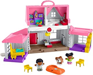 Fisher-Price Little People Big Helpers Home, Pink