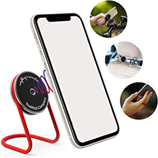 IMStick Light - Phone Mount - Revolutionary Phone Holder for Car, Bike and Home - Stable Magic Mount Phone Stand for Desk - Phone Grip with Wires - Stylish Design Bike Phone Mount