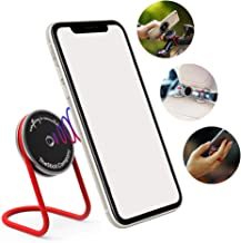 IMStick Multipurpose Magnetic Phone Mount - Revolutionary Phone Holder for Car, Bike and Home - Stable Magic Mount Phone Stand for Desk - Phone Grip with Wires (Classic)