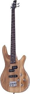 باس ظریف شیک IB با پاور لاین و ابزار آچار بورلیوود رنگ - کیت های مبتدی ، گیتار باس شیک ، کیفیت برتر